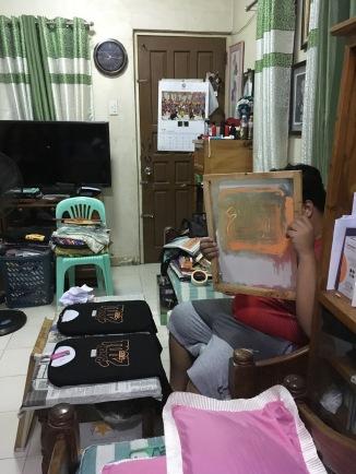 Living room slash work station
